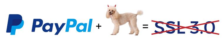 Paypal SSL 3.0 Poodle