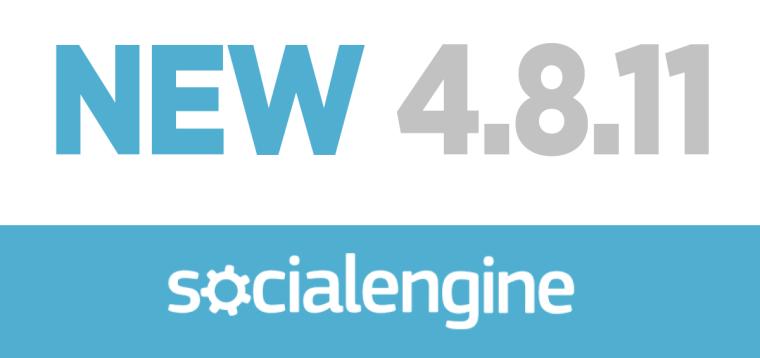 NEW 4.8.11 SocialEngine